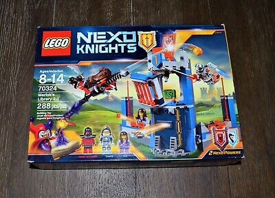 NEW LEGO NEXO KNIGHTS 70324 MERLOK'S LIBRARY 2.0 AGES 8-14