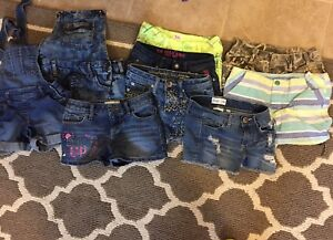 Size 7 and 8 shorts