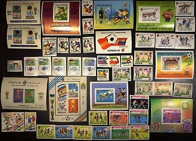 1982 Soccer, Football World Cup, all imperf collection, MNH (307)