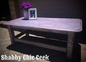✖️SHABBY CHIC COFFEE TABLE✖️ Hillarys Joondalup Area Preview