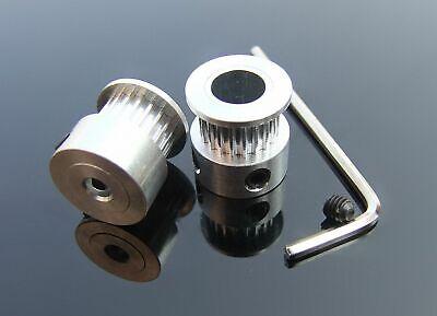 For Reprap Prusa Mendel 2 T5 12teeth Timing Pulleys 2m T5 Timing Belt