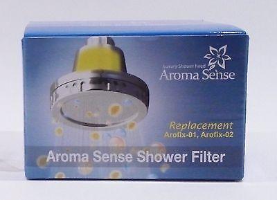 KNTeC Aroma Sense Vitamin C Fixed Wall Mount Arofix01 Shower Head Refill Filter