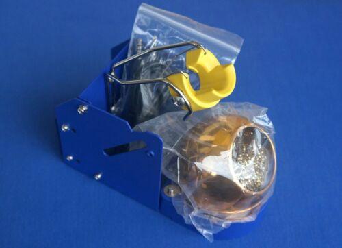 Genuine HAKKO FH200-01 Iron Holder with 599B Tip Cleaner (for FM-2027 & FM-2030)