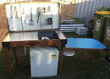 Fold up camp kitchen and seperate sale small fridge Belmont Belmont Area Preview