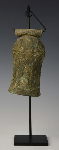 2,500 - 3,000 Years, Dong Son Bronze Bell with Stand