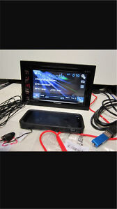 ^** PIONEER DOUBLE DIN DECK AVH 270BT , BLUETOOTH!!