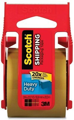 Scotch Heavy Duty Shipping Packaging Tape 1.88 Inch X 800 Inch Tan Pack Of 6