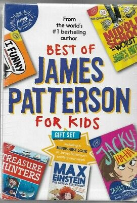 The best of James Patterson for kids set 4 books  NEW in
