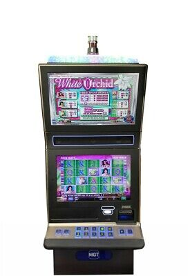 "IGT G23 Slot Machine ""White Orchid"""