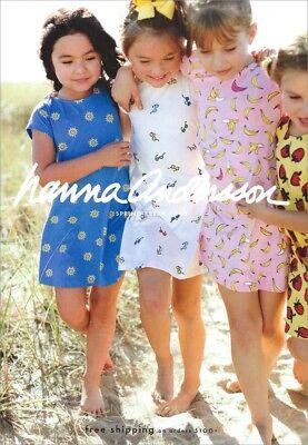 HANNA ANDERSSON Children's Apparel Catalog Spring Break 2018 GIRLS BOYS TODDLER (Kids Clothes Catalogue)