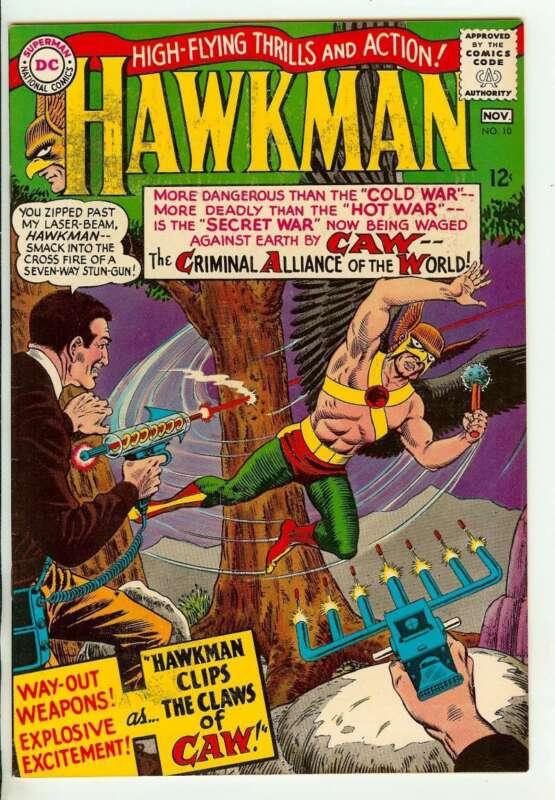 HAWKMAN #10 7.0