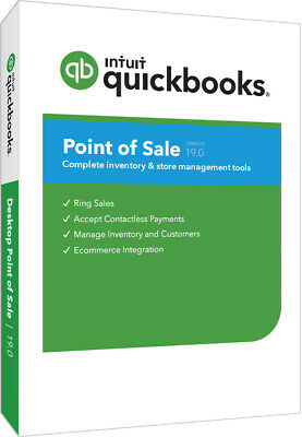 New Quickbooks Pos V19 Basic New User License