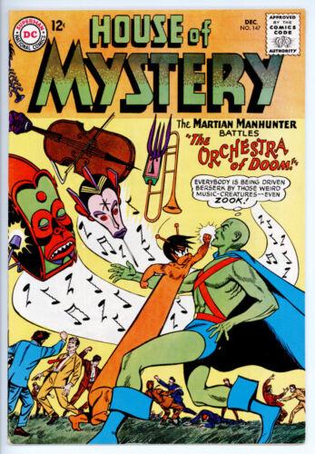 HOUSE OF MYSTERY #147 VF 8.0 1964 DC COMICS MARTIAN MANHUNTER