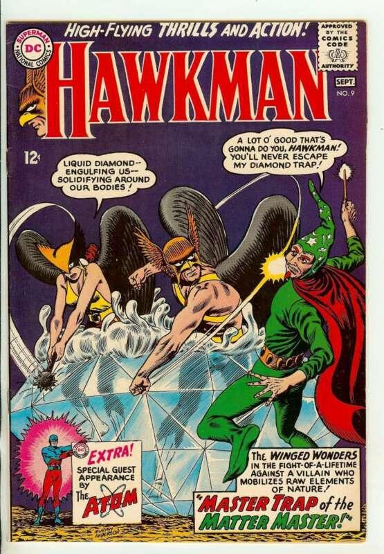 HAWKMAN #9 9.0