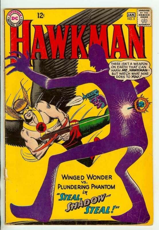 HAWKMAN #5 3.5