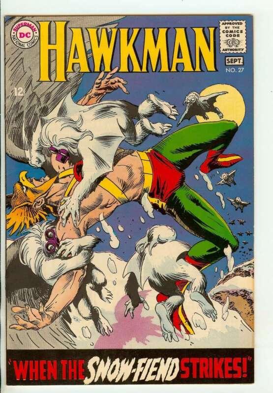 HAWKMAN #27 8.0