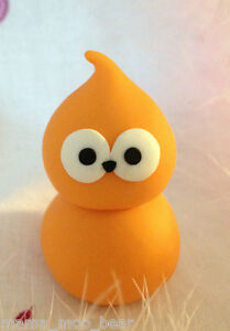 Edf Energy Zingy Toy Figure Character Orange Flame Mascot Blob