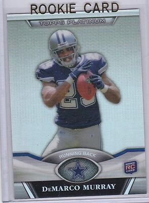 DeMARCO MURRAY Dallas Cowboys 2011 TOPPS PLATINUM ROOKIE Football Card RC Titans