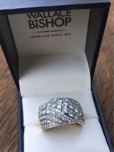 Brand New 9ct Yellow Gold Diamond Dress Ring Everton Hills Brisbane North West Preview