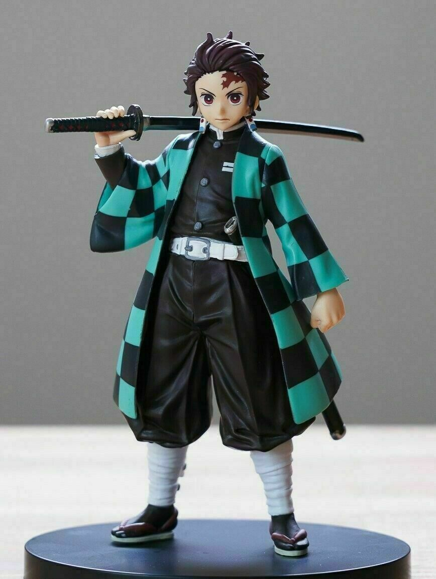 """Demon Slayer: Kimetsu no Yaiba Tanjiro Kamado Tanjirou 5.5"""" Action Figure Toy"""