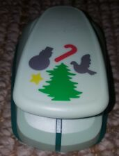 Marvy Uchida Large Lever Hole Punch Christmas Tree Snowman ...
