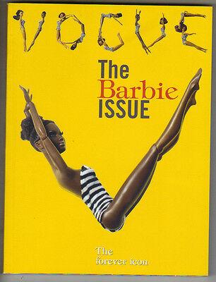 BARBIE Italian Vogue Italia 2009 BLACK ISSUE RARE