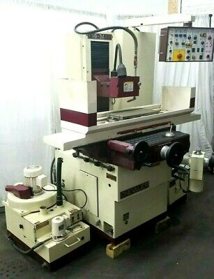 Chevalier Automatic 3 Axis 8 X 18 Surface Grinder Hydraulic Watch Video
