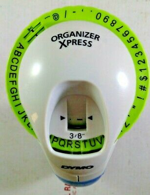 Dymo Organizer Xpress 38 Tape Handheld Embosser Embossing Label Maker Labeler