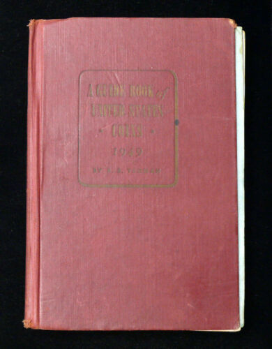1949 Red Book of US Coins 3rd Edition - RARE