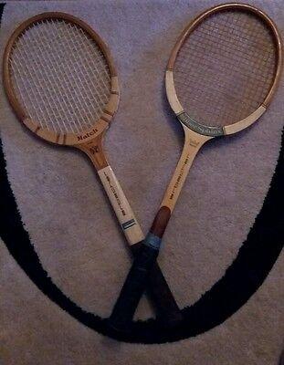 2 Schöne  Erbacher Silber Sphinx und Match  Tennisschläger  Rare Ware