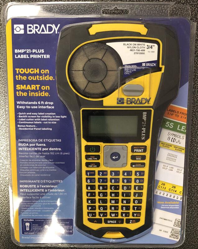 Brady BMP21-PLUS industrial Handheld Label Printer