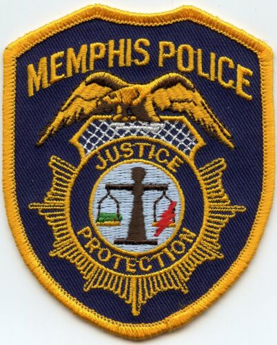 MEMPHIS TENNESSEE TN Home of Elvis Presley POLICE PATCH