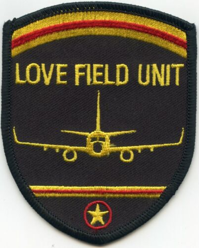 DALLAS TEXAS TX LOVE FIELD AIRPORT POLICE PATCH