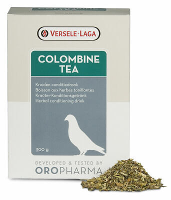 Versele Pigeon Colombine Tea 300g for Pigeons Racing Season Recovery BMFD