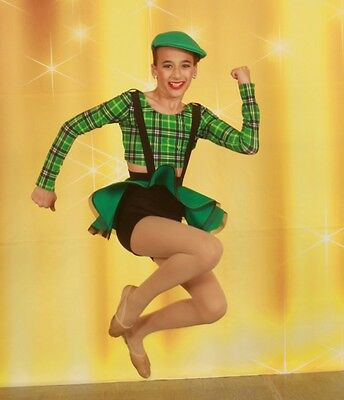 Girl On Fire Dance Costume (Kelle dance costume style 8198 Girl on Fire Sz LC Musical Theater Tap)