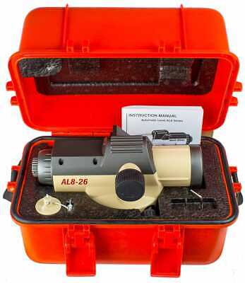 David White Al8-26 Kit 26-power Automatic Survey Construction Optical Level