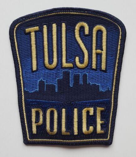 Tulsa Oklahoma Police patch, full size