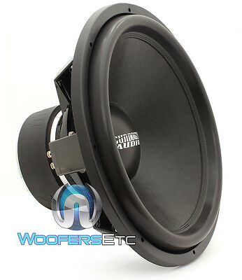 "SA-18 REV.3 D2 SUNDOWN AUDIO 18"" SUB 750W DVC 2 OHM LOUD SUBWOOFER SPEAKER NEW"