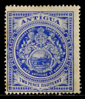 ANTIGUA, BRITISH: 1908 CLASSIC ERA STAMP UNUSED HINGED SCOTT #34 CV $21 SOUND