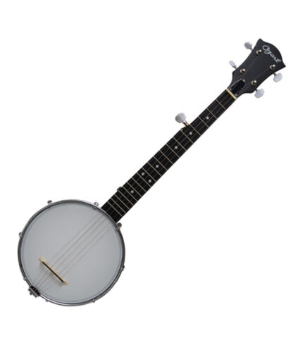 Mini Banjo Open Back Composite Shell 19 frets with Gig Bag 2195  by Ozark