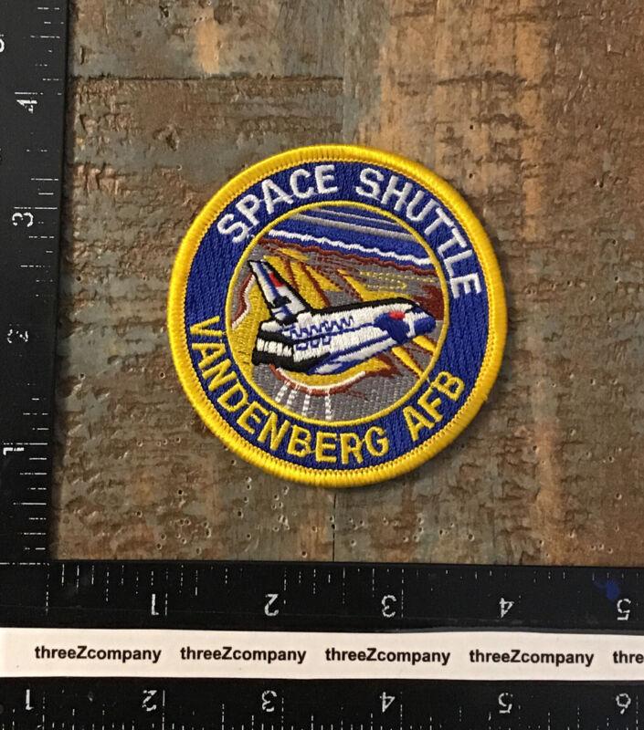 NASA Space Shuttle Vandenberg Air Force Base Patch USAF