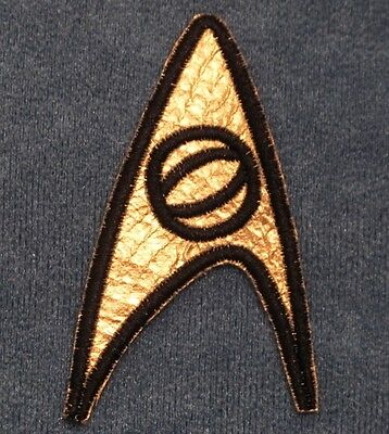 Star Trek TOS Original Series Insignia Patch Sciences Enterprise Emblem Spock