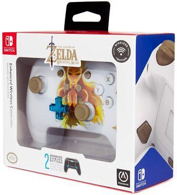 Mando Power A Nintendo Switch Inalámbrico Zelda blanco nuevo precintado
