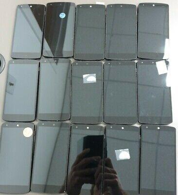 Wholesale lot of 15  Nexus 5 D820 16GB Black and White Unlocked Smartphone