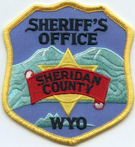 SHERIDAN COUNTY WYOMING WY SHERIFF POLICE PATCH