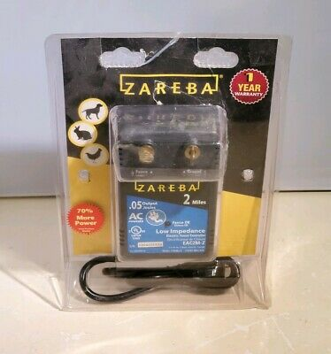 Zareba Eac2m-z Fuseless Low Impedance Ac Powered Electric Fence 70 More Power