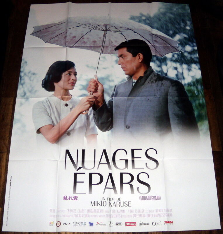 TWO iN THE SHADOW 乱れ雲 Mikio Naruse Japan Scattered Clouds LARGE French POSTER