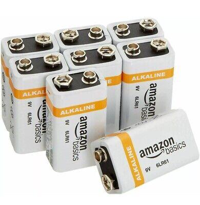 *Best Deal* Amazon Basics 9V 9 volt Everyday Alkaline Batteries (8-Pack) (Best Deals)