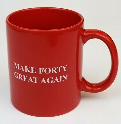40th Birthday Gag Gift Idea Coffee Mug for Men Women Turning Forty 40 Bday 1979