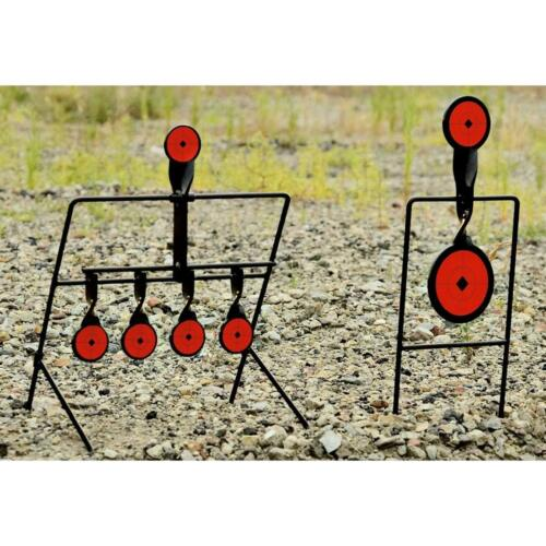 Guide Gear Steel Auto Reset Spinner Shooting Targets Rifle Pistol Shoot Practice